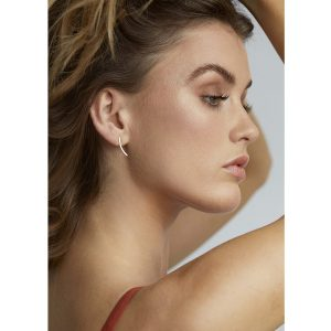 """WILD FAWN Ohrstecker """"Delicate Curve 9ct Gold"""""""
