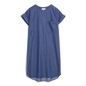 """ARMEDANGELS Kleid """"Gitaa Tencel"""" basic denim blue"""