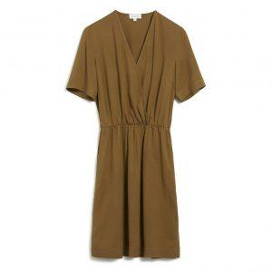 "ARMEDANGELS Kleid ""Airaa"" golden khaki"