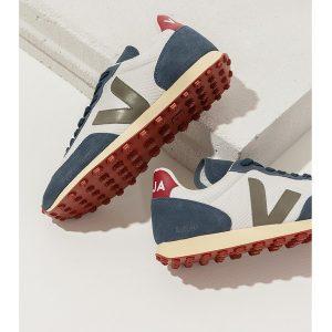 "VEJA Schuhe ""Rio-Branco"" Hexamesh gravel-kaki butter sole"