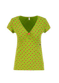 """BLUTSGESCHWISTER T-Shirt """"mon coeur tee"""" strawberry soucre"""