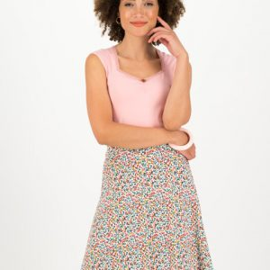 "BLUTSGESCHWISTER Rock ""Secret Showgirl Skirt"" fine flower"