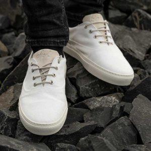 "BLEED Sneaker ""Eco4"" weiß"