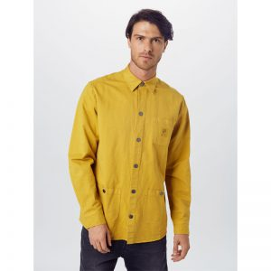 "BLEED Hemd  ""Hemp Shacket"" mustard"
