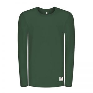 "BLEED Longsleeve ""Super Active EDELWEISS Forestfibre"" dark green"