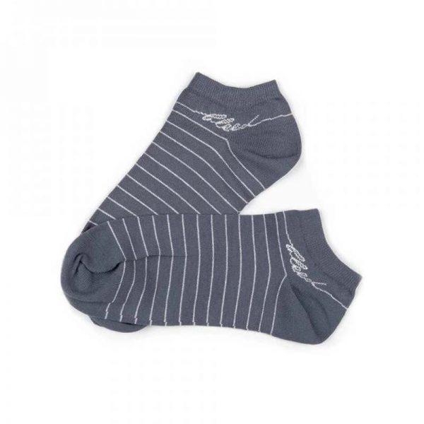 bleed clothing organic socks grau