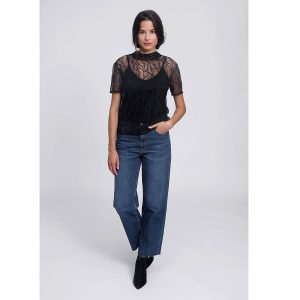 "LOVJOI Top ""Silkyleaf"" black"