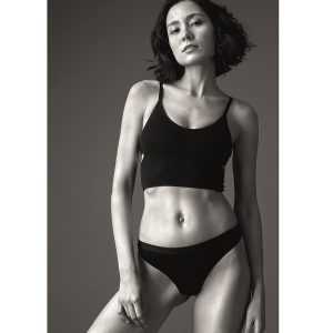 "LOVJOI INTIMATES String ""Wild Madder"" black"