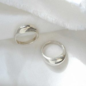 "WILD FAWN Ring ""Chunky Statement"" silber"