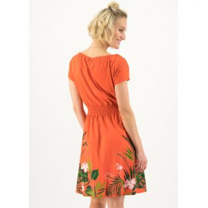 "BLUTSGESCHWISTER Kleid ""Botanical Attraction Robe"" tropical heat"