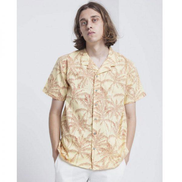 Komodo Herren Shirt Palmeras Gelb