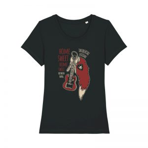 "Taubertal Festival 2020 Solishirt ""Home Sweet Home"" GIRL, black"