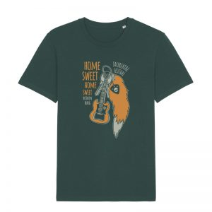 "Taubertal Festival 2020 Solishirt ""Home Sweet Home"" unisex, glazed green"