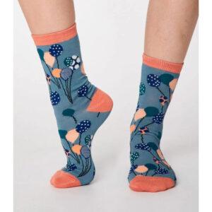 """THOUGHT Socken """"Nettie Bamboo Balloon"""" 36-41"""