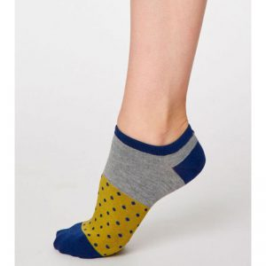"THOUGHT SneakerSocken ""Esther Bamboo"" citron green, 36-41"