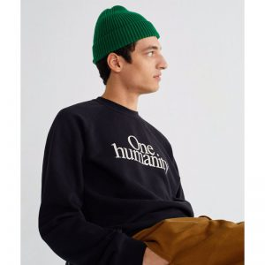 "THINKING MU Pullover ""One Humanity"""