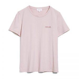 """ARMEDANGELS T-Shirt """"Maraa Mindset."""" pale mauve"""