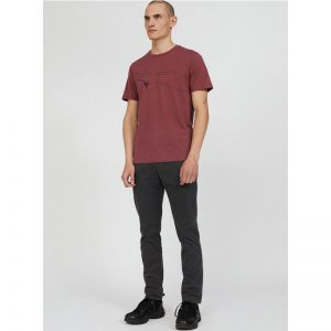 "ARMEDANGELS T-Shirt ""Jaames Mountain Climber"" sable red"
