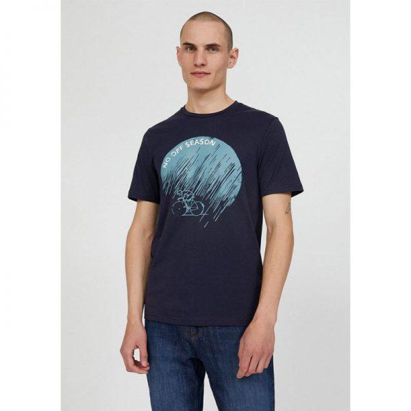 "ARMEDANGELS T-shirt""Jaames no off Season navy"