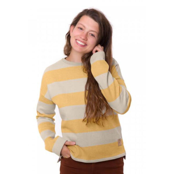 "BLEED Damen Sweater ""Captains"" yellow"