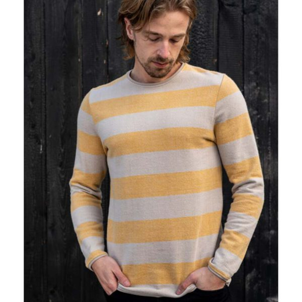 """BLEED Sweater """"Captains"""" yellow"""