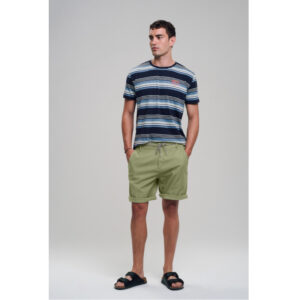 """RECOLUTION Shorts """"Canvas"""" olive"""