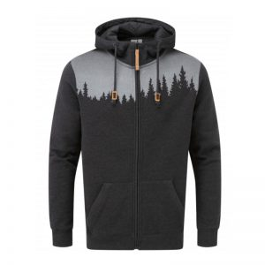 "TENTREE Zip-Hoodie ""Men's Juniper"" meteorite black heather"