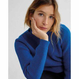 "THINKING MU Pullover ""Blue Hera"""