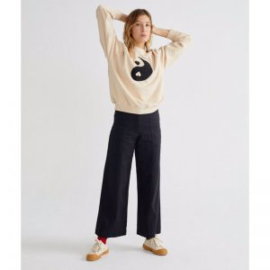 "THINKING MU Sweatshirt ""Yin Yang"""