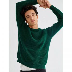 "THINKING MU Sweatshirt ""Anteros"" green"