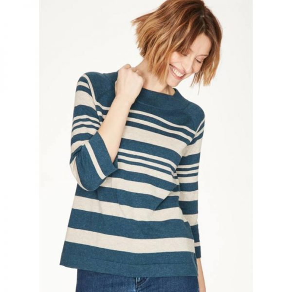 THOUGHT-Pullover-Sail-la-vie-majolica-blue