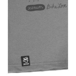 """ZERUM T-Shirt """"Bike all over"""" stone dark grey"""
