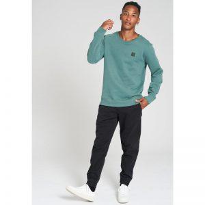 "RECOLUTION Sweatshirt ""Casual"" eukalyptus"