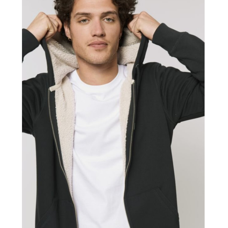 Kuscheliger Zipper- Hoodie der dich auf jeden Fall nicht frieren lässt! Ein echter Dauerbrenner für Frostbeulen auch für die Übergangszeit.