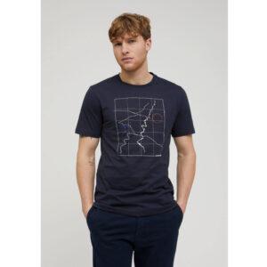 """ARMEDANGELS Herren T-Shirt """"Jaames Scale up"""" depth navy"""