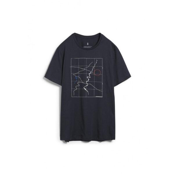 Schlichtes T-Shirt aus weicher Bio-Baumwolle von Armedangels