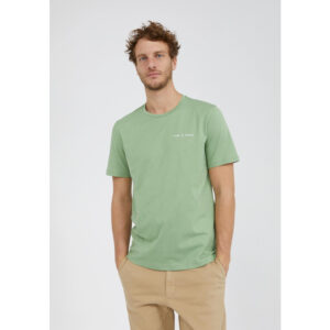 "ARMEDANGELS T-Shirt ""Jaames Statement"" misty grass"