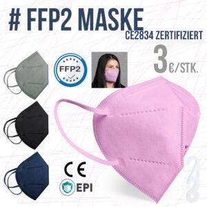 20 Stück – SELBSTFILTERNDE MASKE FFP2