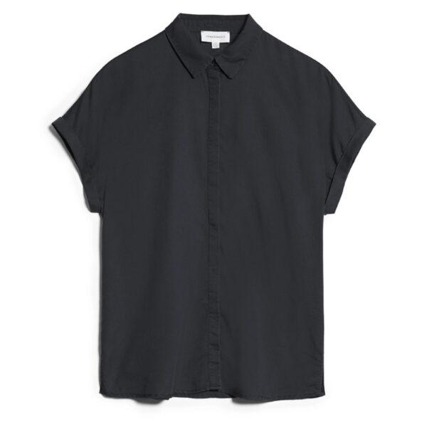 Bluse aus dem supersoften Lenzing-Material, dass sich seidig weich auf der Haut anfühlt.