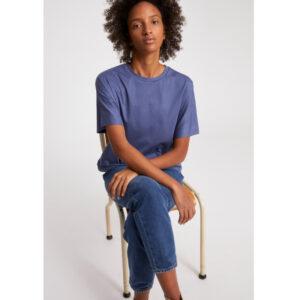 "ARMEDANGELS Damen T-Shirt ""Kajaa"" foggy blue"