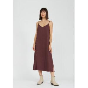 """ARMEDANGELS Kleid """"Gaelaa"""" aubergine"""
