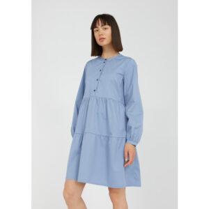 """ARMEDANGELS Kleid """"Kobenhaavn"""" foggy blue"""