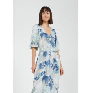 """ARMEDANGELS Kleid """"Tyraa Watercolors"""" foggy blue"""