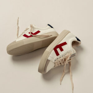 "FLAMINGOS' LIFE Sneaker ""Classic 70"" white navy red grey"
