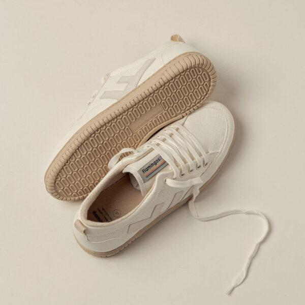 """FLAMINGOS' LIFE Sneaker """"Roland V.3"""" snow ivory"""