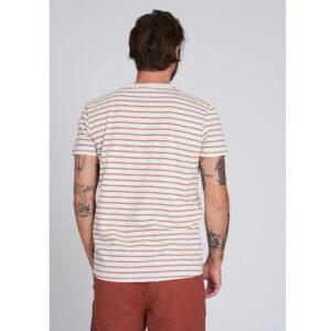 "RECOLUTION T-Shirt ""Casual Stripes"" light creme"