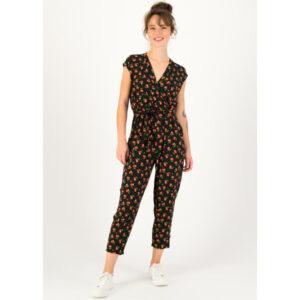 "BLUTSGESCHWISTER Jumpsuit ""hello fritjes"" cherry ladybug"