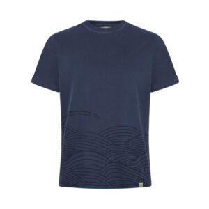 """KOMODO T-Shirt """"Sashiko"""" indigo"""
