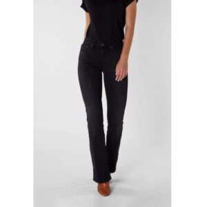 """KUYICHI Jeans """"Amy, Boot Cut"""" faded black"""