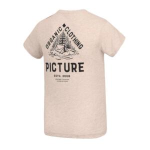 "PICTURE T-Shirt ""Carson Tee"" beige melange"